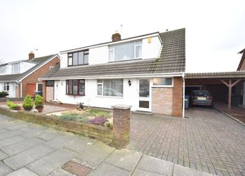 Thumbnail 3 bed semi-detached bungalow for sale in Bexley Avenue, Blackpool