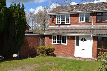 Thumbnail 3 bed semi-detached house to rent in Abbey Road, Macclesfield