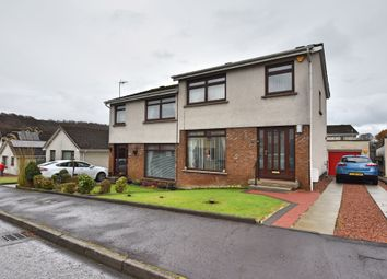 Thumbnail 3 bed semi-detached house for sale in Carron Road, Wemyss Bay