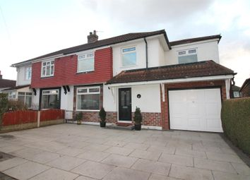 Thumbnail 4 bed semi-detached house for sale in Tintern Avenue, Urmston, Manchester