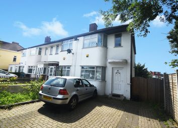 Thumbnail 3 bed end terrace house to rent in Rayners Lane, Harrow