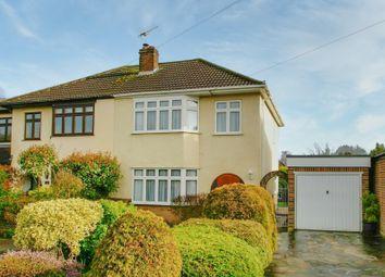 Thumbnail 3 bed semi-detached house for sale in Ridgeway, Ingatestone, Essex
