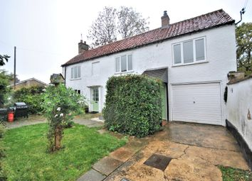 Thumbnail 3 bed cottage for sale in Church Lane, Northwold, Thetford