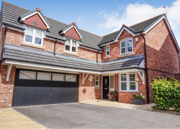 Thumbnail 4 bed detached house for sale in Heathfield Gardens, Runcorn