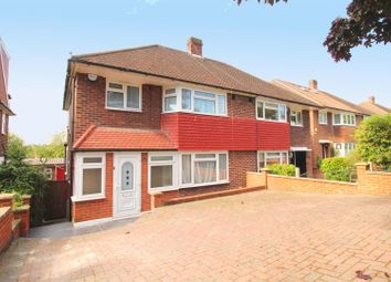 Thumbnail 3 bed semi-detached house for sale in Abbotshall Avenue, London