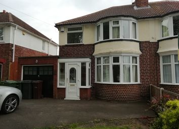 Thumbnail 3 bed semi-detached house for sale in Warstones Road, Wolverhampton