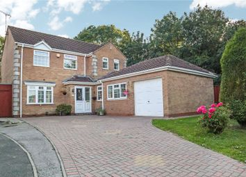 Thumbnail 4 bed detached house for sale in Normandy Close, Glenfield, Leicester