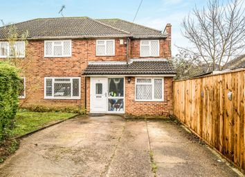 Thumbnail 4 bed semi-detached house for sale in Walton Close, High Wycombe