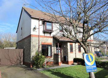 Thumbnail 3 bed semi-detached house for sale in Llys Dwynwen, Llantwit Major