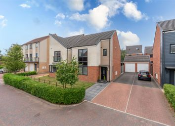 Thumbnail 3 bed detached house for sale in Bowden Close, Great Park, Newcastle Upon Tyne