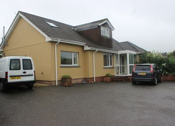 Thumbnail 5 bed detached bungalow for sale in The Village, Milton Abbot, Tavistock