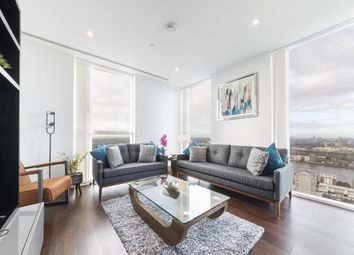 3 bed flat to rent in Maine Tower, 9 Harbour Way, Millhabour, Canary Wharf, London E14