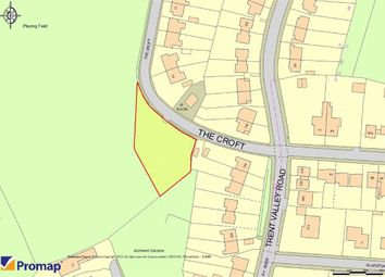 Thumbnail Land for sale in The Croft, Stoke-On-Trent, Staffordshire