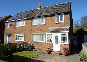 Thumbnail 3 bed semi-detached house for sale in Elsdon Avenue, Seaton Delaval, Whitley Bay
