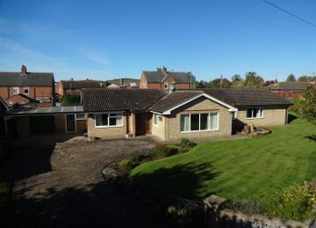 Thumbnail 4 bed detached bungalow for sale in School Crescent, Anwick, Sleaford