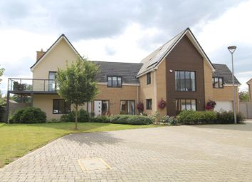 Thumbnail 5 bed detached house for sale in Raft Way, Milton Keynes