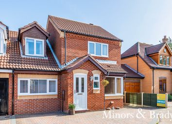 Thumbnail 3 bed link-detached house for sale in Long Barrow Drive, North Walsham