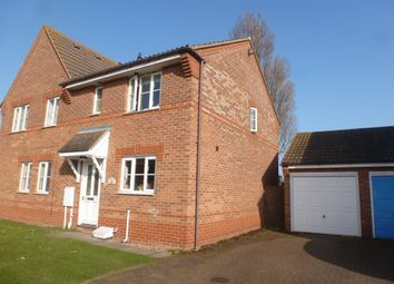 Thumbnail 3 bed semi-detached house for sale in Vienna Close, Dovercourt, Harwich