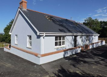 Thumbnail 4 bedroom detached bungalow for sale in New Road, Goodwick