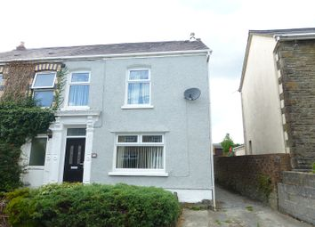 Thumbnail 3 bed semi-detached house to rent in Wernddu Road, Ammanford, Carmarthenshire.