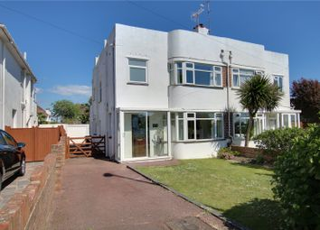 Thumbnail 3 bed semi-detached house for sale in Alinora Avenue, Goring-By-Sea, Worthing, West Sussex