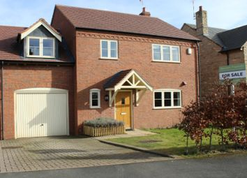 Thumbnail 3 bed link-detached house for sale in Hereburgh Way, Harbury