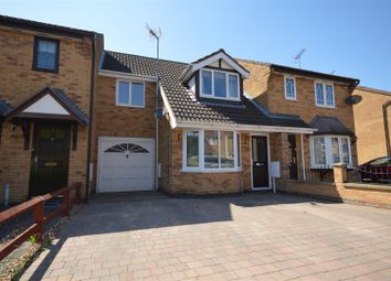 Thumbnail 3 bed terraced house for sale in John Clare Court, Kettering