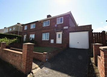 Thumbnail 3 bed semi-detached house for sale in Westway, Throckley, Newcastle Upon Tyne