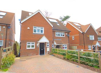 Thumbnail 4 bed semi-detached house for sale in Tupwood Gardens, Caterham