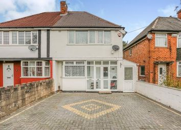 Thumbnail 3 bed semi-detached house for sale in Falmouth Road, Hodge Hill, Birmingham, West Midlands