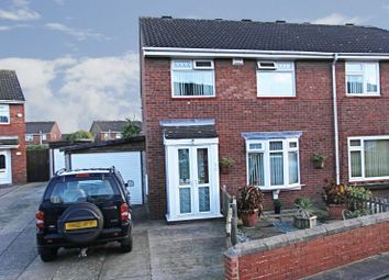 Thumbnail 3 bedroom semi-detached house for sale in Swanella Grove, Hull
