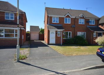 Thumbnail 3 bed semi-detached house for sale in Pickering Road, Leicester