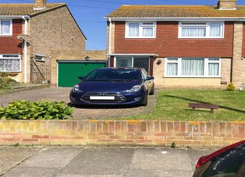 Thumbnail 3 bed semi-detached house for sale in Glenbervie Drive, Beltinge, Herne Bay, Kent