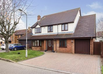 Tabard Gardens, Newport Pagnell MK16. 4 bed detached house for sale