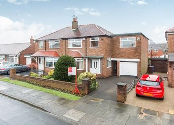Thumbnail 4 bedroom semi-detached house for sale in Meynell Drive, Pennington, Leigh, Greater Manchester