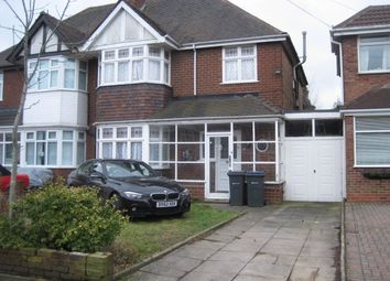 Thumbnail 3 bed semi-detached house to rent in Madison Avenue, Hodge Hill, Birmingham, West Midlands