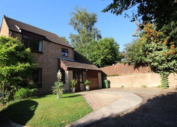 Thumbnail 4 bed link-detached house for sale in Marshall Close, Purley On Thames, Reading