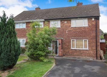 Thumbnail 3 bed semi-detached house for sale in Draycott Close, Warstones, Wolverhampton