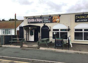 Thumbnail Restaurant/cafe for sale in Ceg Y Ffordd, Prestatyn