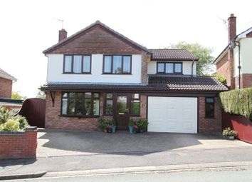 Thumbnail 4 bed detached house for sale in Stockwood Road, Newcastle-Under-Lyme