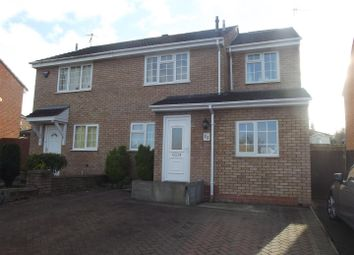 Thumbnail 3 bed semi-detached house for sale in Kingston Close, Droitwich