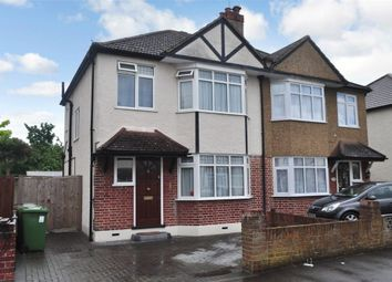Thumbnail 3 bed semi-detached house for sale in Templedene Avenue, Staines Upon Thames, Surrey
