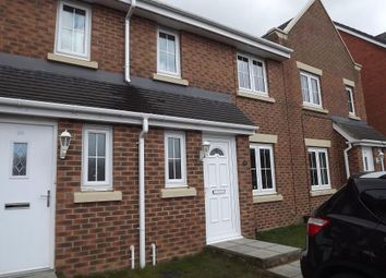 Thumbnail 3 bed terraced house to rent in Beechwood Close, Sacriston, Co Durham