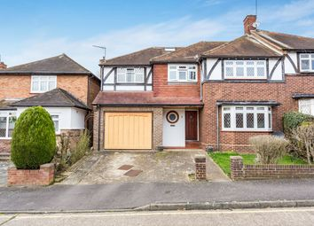 Thumbnail 5 bedroom semi-detached house for sale in Glen Crescent, Woodford Green