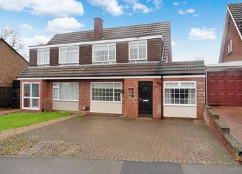 Thumbnail 4 bed semi-detached house for sale in Chichester Close, Dunstable