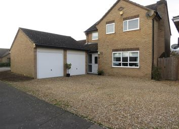 Thumbnail 4 bed detached house for sale in Gloucester Road, Sawtry, Huntingdon