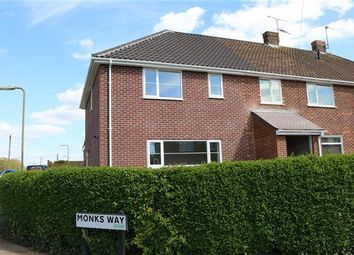 Thumbnail 3 bed end terrace house for sale in Monks Way, Eastleigh