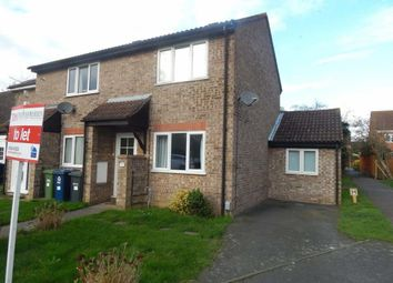 Thumbnail 3 bed end terrace house to rent in Cunningham Way, Eaton Socon, St. Neots