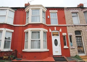 Thumbnail 3 bedroom terraced house for sale in Ancaster Road, Aigburth, Liverpool