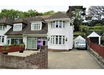 Thumbnail 4 bed semi-detached house for sale in Aller Brake Road, Newton Abbot